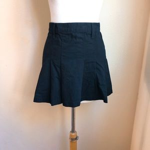 Juicy Couture Jeans Pleated Mini Skirt